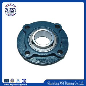 Pillow Block Bearing Ucfc Series Galvanized Support Bearing for Lead Screw Ucfc201 Ucfc202
