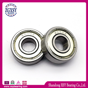 Bearing Steel High Carbon Steel 607zz/RS Miniature Deep Groove Ball Bearing